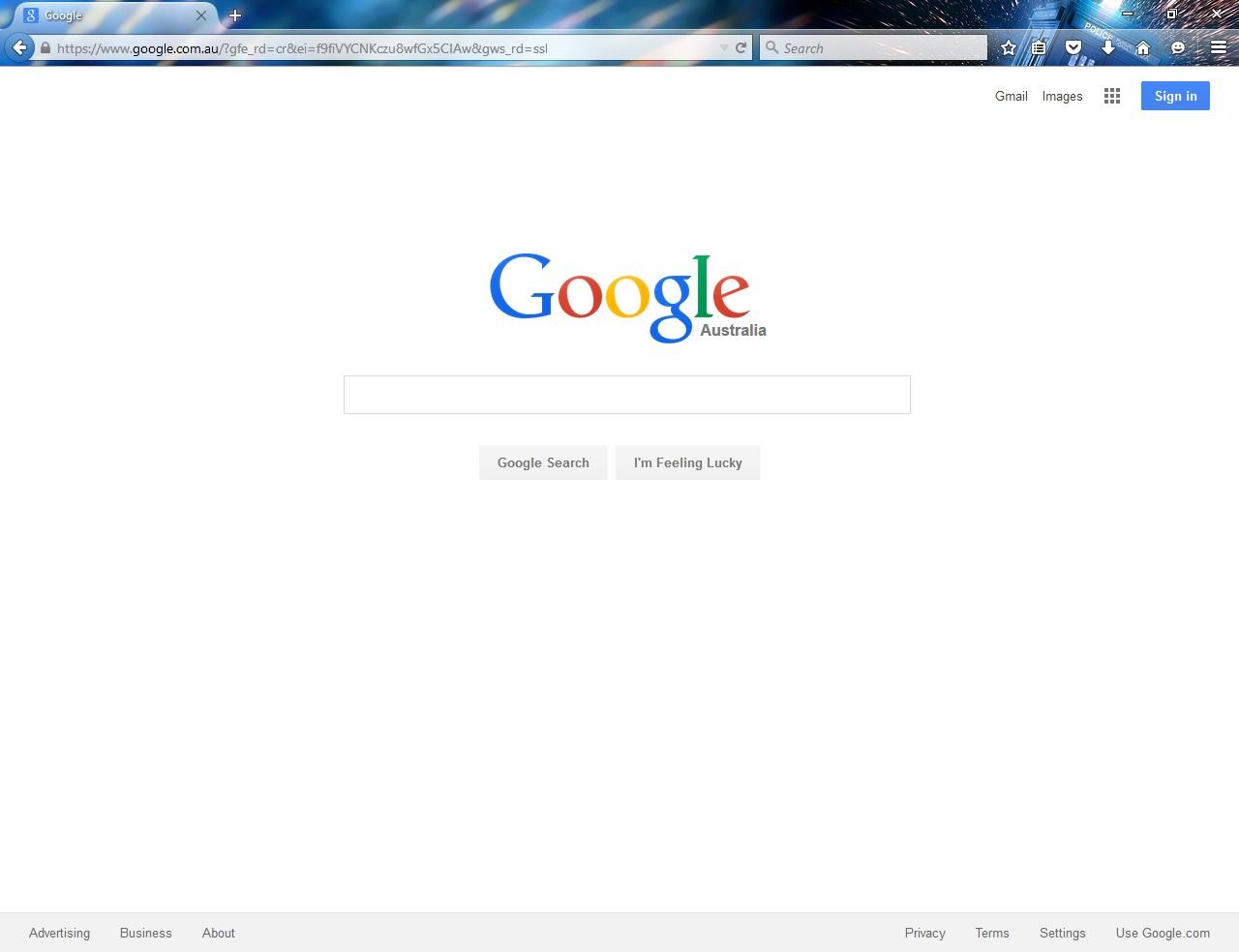 how to make google my homepage on safari macbook air